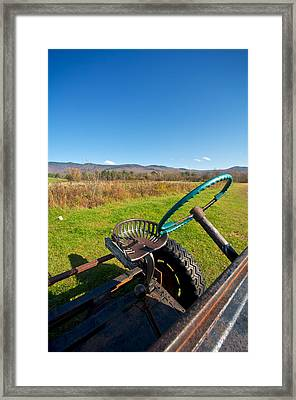 Open Air Framed Print by Mike Horvath