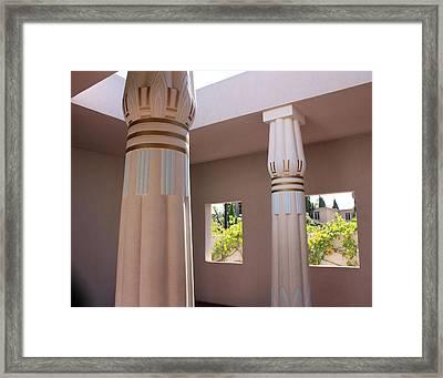 Open Air Temple Framed Print