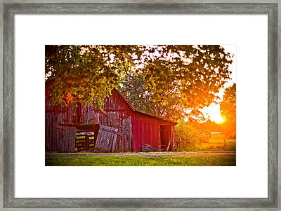 Open Door Ll Framed Print