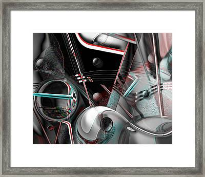 Framed Print featuring the digital art Open Door Policy by Steve Sperry