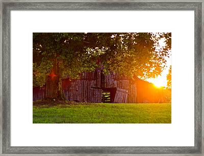 Open Door Framed Print