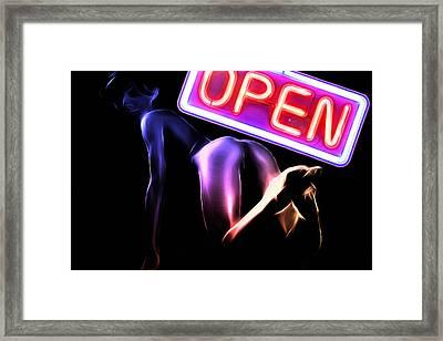 Open For All Framed Print by Steve K