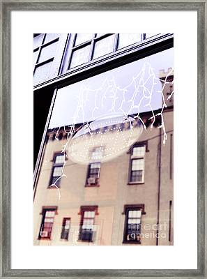 Open Framed Print by HD Connelly