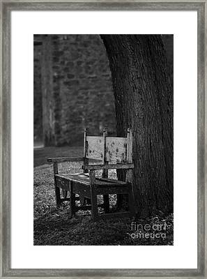 Open Invitation Framed Print