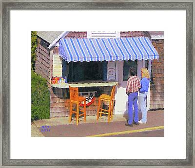 Open Invitation Framed Print by Richard Stevens