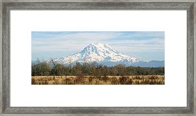 Framed Print featuring the photograph Open Range by Rob Green