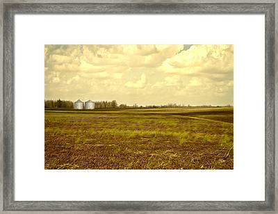 Open Spaces Framed Print