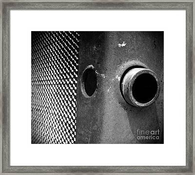 Open To Pour Framed Print by Steven Milner