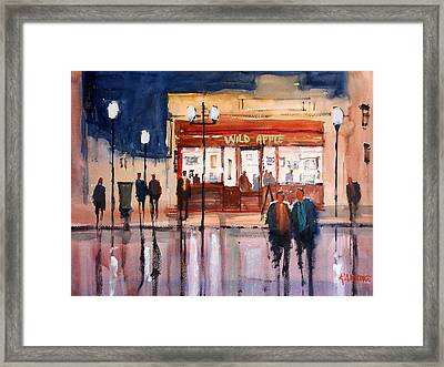 Opening Night Framed Print by Ryan Radke