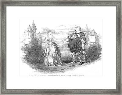 Opera: I Puritani, 1848 Framed Print