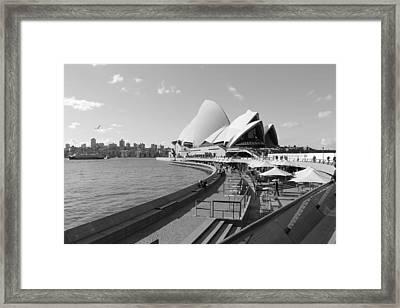 Opera Morning Framed Print by Harlan Fijal-Campbell