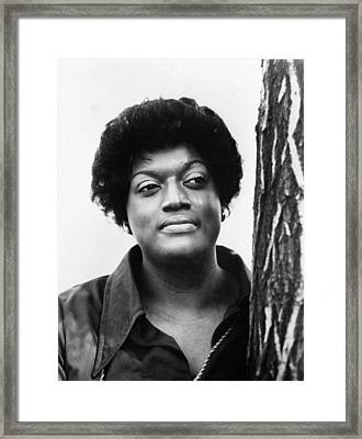 Opera Singer Jessye Norman, C. 1982 Framed Print