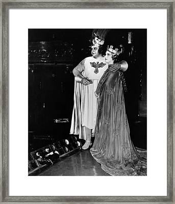 Opera Singers Lauritz Melchior Framed Print by Everett