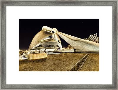 Opera Valencia Framed Print by Gabriel Calahorra