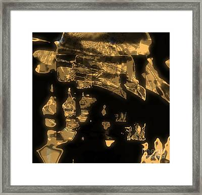Operating Shadow And Power Framed Print by Fania Simon