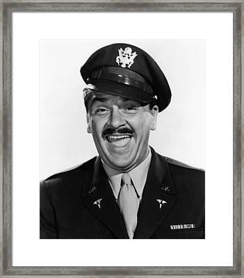 Operation Mad Ball, Ernie Kovacs, 1957 Framed Print