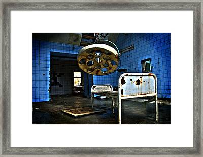 Operation Time Framed Print