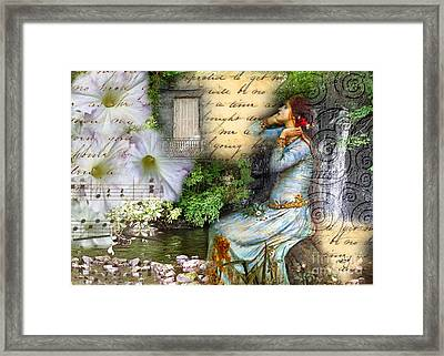 Ophelia In Nature Framed Print