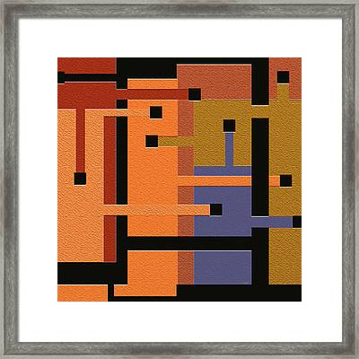 Opinions Framed Print by Ely Arsha