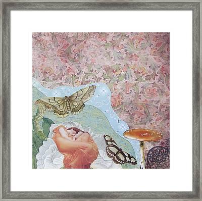 Opium Dreams Framed Print by Kanchan Mahon