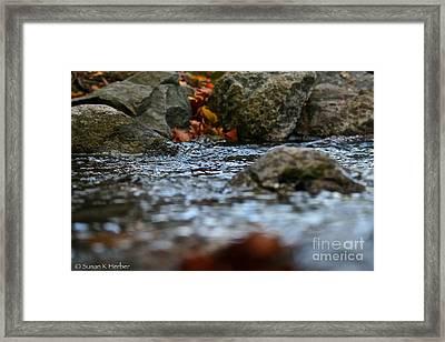Opposite Shore Framed Print by Susan Herber
