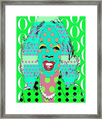 Oprah Framed Print by Ricky Sencion