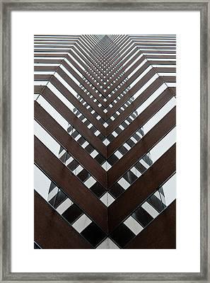 Optical Illusion Framed Print