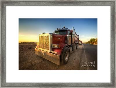 Optimus Framed Print by Yhun Suarez