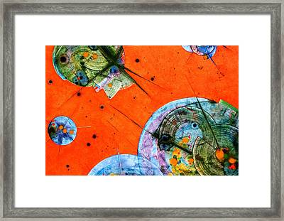 Opus - Five Framed Print by Mudrow S