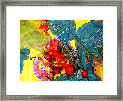 Opus - Four Framed Print by Mudrow S