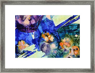 Opus - Six Framed Print by Mudrow S