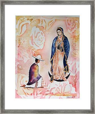 Ora Pro Nobis Framed Print by Regina Ammerman