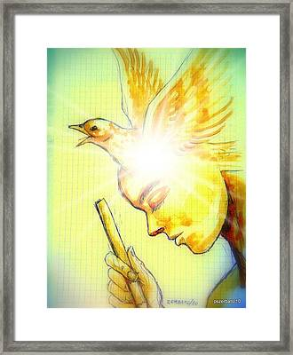 Oracle Framed Print by Paulo Zerbato