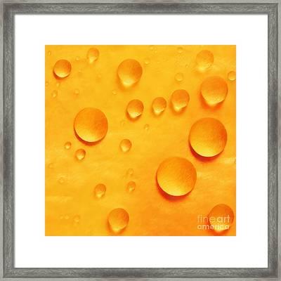 Orange Globes Framed Print by Paul Topp