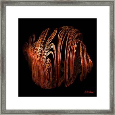Orange Peel Framed Print by Michael Durst