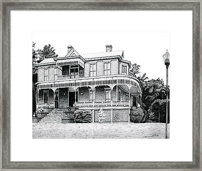 Orange Terrace Framed Print by Nathaniel Price