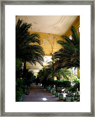 Orangerie Sanssouci Framed Print by Tanya  Searcy