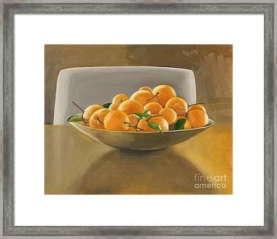 Oranges Framed Print by Melissa Burke