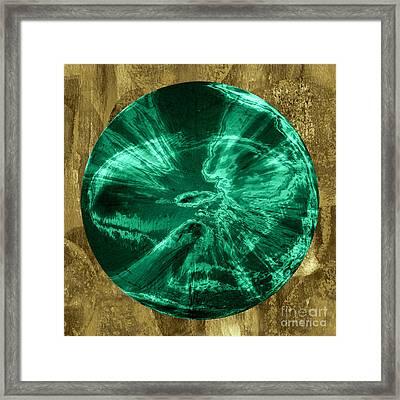 Orb Number Three Framed Print by David Gordon