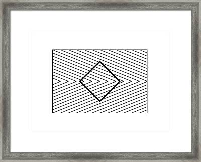 Orbison Illusion Framed Print by