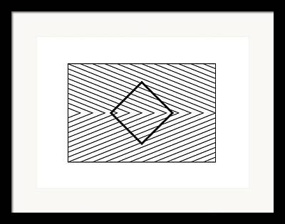Orbison Illusion Framed Prints