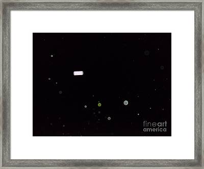 Orbs And Friend Framed Print by Doug Kean