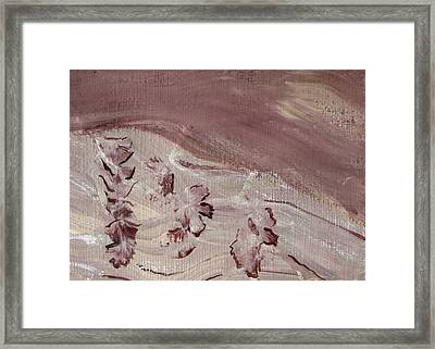 Orchid River Framed Print