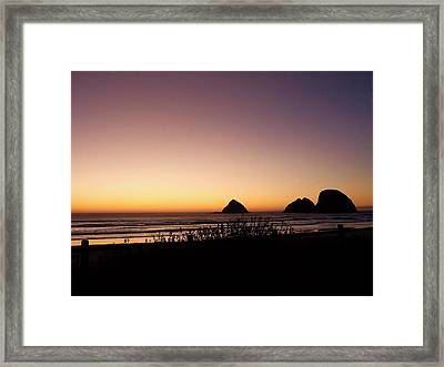 Oregon Coast 16 Framed Print