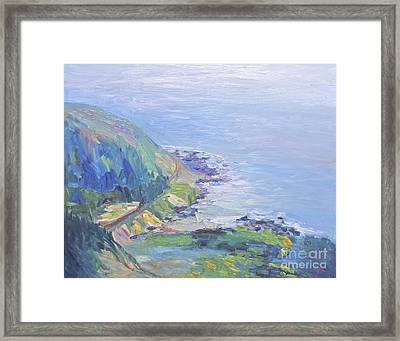 Oregon Coastline Framed Print
