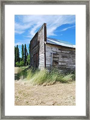Oregon Ghost Town Framed Print