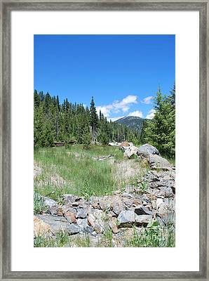 Oregon Framed Print