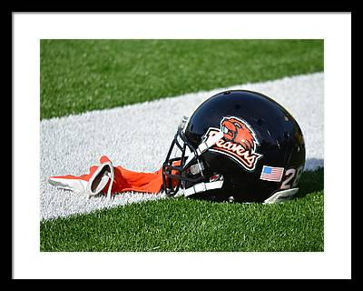 Oregon State Framed Prints
