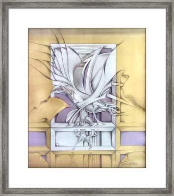Organicomp 1991 Framed Print by Glenn Bautista