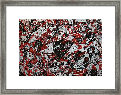 Organized Chaos Framed Print by Tyler Schmeling